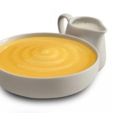 Dulce de leche (milk caramel) creamy pudding