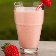 Boisson façon Milk Shake saveur Fraise